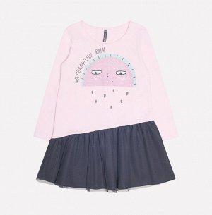 Платье для девочки Crockid КР 5561 холодно-розовый к232