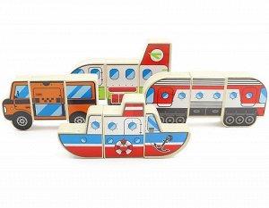 Магнитные фигуры  транспорт