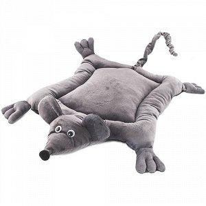 ZooM Подушка Пухлик Mouse Серый 75*50*10см (1/1)