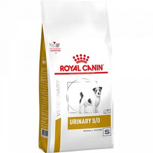 Royal Canin д/соб Vet Urinary S/O Small Dogs урология/мкб 1,5кг (1/6)
