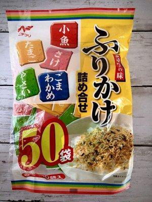 Приправа к рису Фурикаке,набор из 5 видов (50p в упаковке)