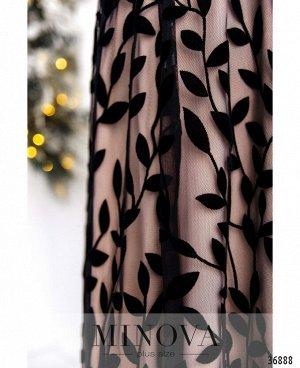 Платье №481-розовый
