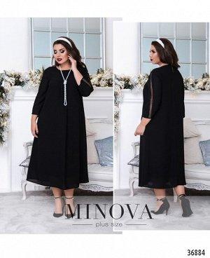 Платье №106Б-черный