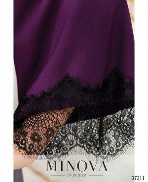 Платье №746-1СБ-сливовый