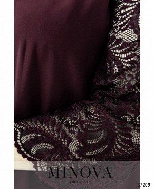 Платье №734-1СБ-бордо