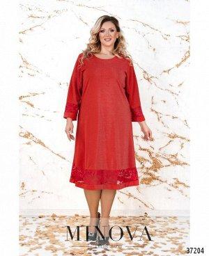 Платье №747-1СБ-красный