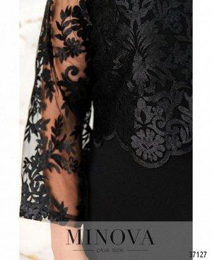 Платье №147СБ-черный