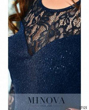 Платье №149Б-индиго