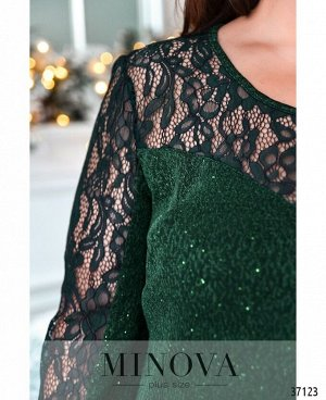 Платье №149Б-зеленый