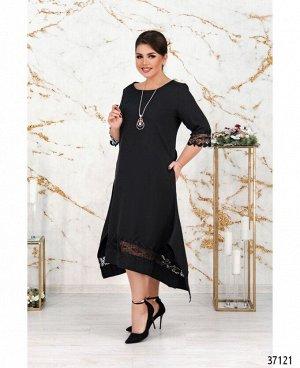 Платье №195Б-черный