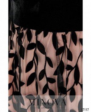Платье №481СБ-розовый