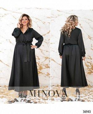 Платье №3271СБ-черный
