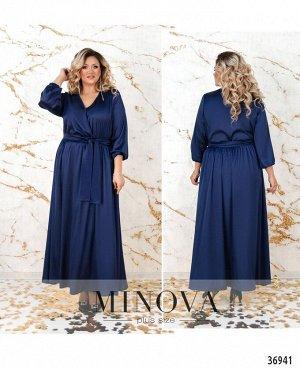 Платье №3271СБ-индиго
