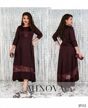 Платье №403-бордо