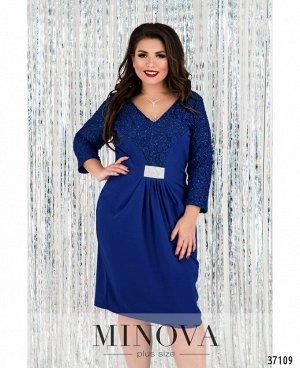 Платье №17-185-электрик