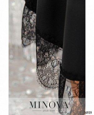 Платье №3285СБ-черный