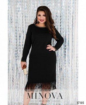 Платье №8-199-черный