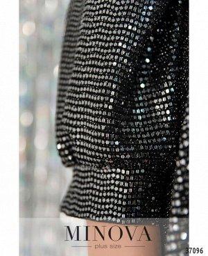 Платье №758СБ-черный