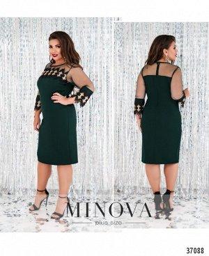 Платье №232-зеленый