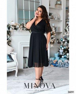 Платье №506А-черный