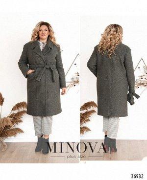 Пальто №3282-графит