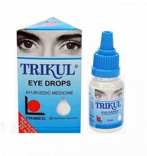 Глазные капли Трикул Trikul Eye Drops 15 мл.