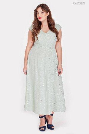 Лёгкое летнее платье Павия  (шалфей)