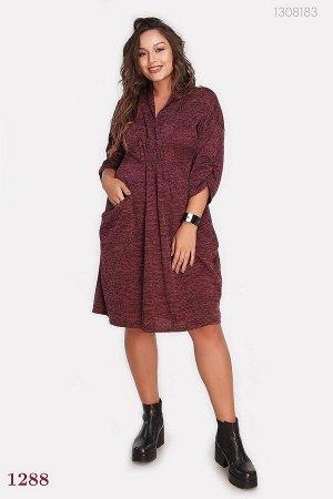 Платье Толедо 1 (марсало)