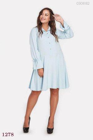 Платье Лейкленд (голубой)