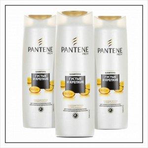 PANTENE Шампунь Густые и крепкие для тонких и ослабленных волос 400мл