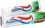 Аквафреш зуб.паста 3+ мягко-мятная, 125 мл (100 + 25 бесплатно)