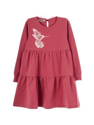 Платье 967А2 темно-розовый