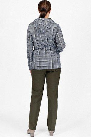 Костюм с брюками, футер 2-х нитка с лайкрой, хаки