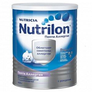 Nutrilon Пепти Аллергия Смесь молочная с пребиотиками с рождения 400г