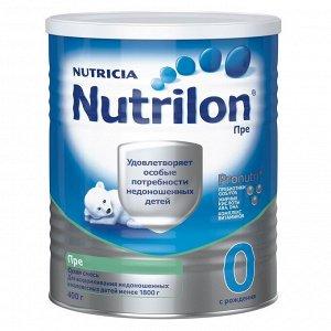 Nutrilon ПРЕ Смесь молочная с рождения  400г