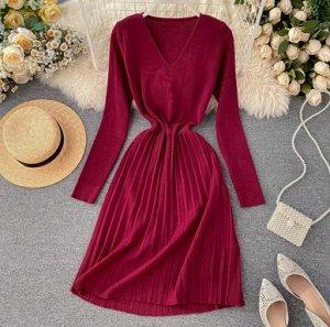 Уютное повседневное платье