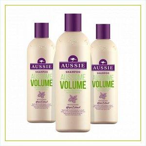 AUSSIE Шампунь Aussome Volume для тонких волос 300мл