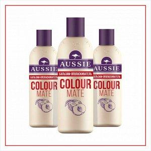 AUSSIE Бальзам-ополаскиватель Colour Mate для окрашенных волос 200мл