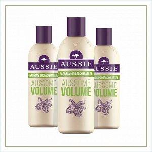 AUSSIE Бальзам-ополаскиватель Aussome Volume для тонких волос 200мл
