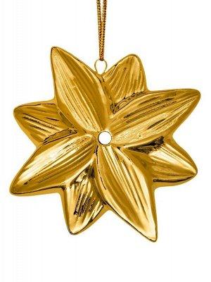 Новогоднее подвесное украшение Восьмиконечная звезда Звезда