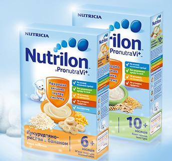 """Для малышей и малышек! Питание и подгузники по лучшим ценам! — Каши и смеси """"Nutrilon"""", """"Малютка"""" — Каши"""