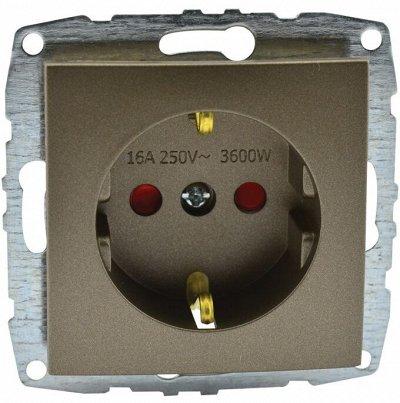 Розетки и выключатели Mono Electric Despina — *БРОНЗА — Электрооборудование