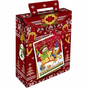 """Новогодний подарок """"Рюкзак красный"""" 400 г"""