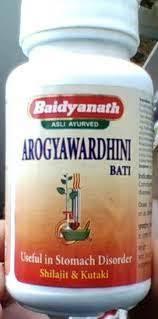 Baidyanath Ayurveda Arogyavardhini vati / Байдианат Арогьявардхини Вати 80 таб.