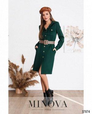Платье №500Н-зеленый