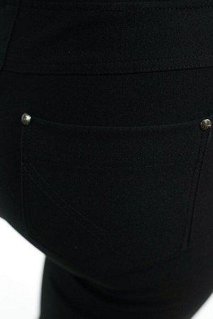Брюки-3325 Модель брюк: Дудочки; Материал: Трикотаж с начесом; Цвет: Черный; Фасон: Брюки; Параметры модели: Рост 168 см, Размер 54 Брюки дудочки с начесом черные Брюки-стрейч выполнены из плотной мяг