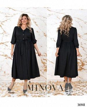 Платье №3257СБ-черный