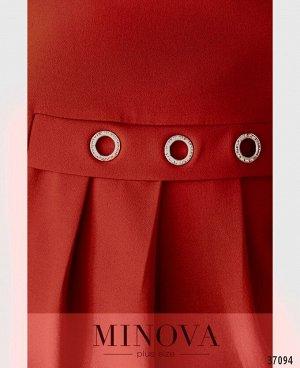 Платье №3277СБ-красный