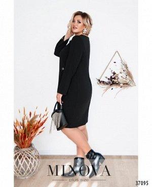 Платье №3277СБ-черный