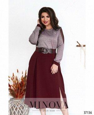 Платье №8-194-бордо